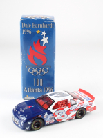 Dale Earnhardt LE #3 100th Olympics Atlanta 1996 Monte Carlo 1:24 Scale Die-Cast Car at PristineAuction.com