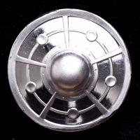 Alien UFO 2 oz .999 Fine Silver 3D Bullion Round at PristineAuction.com