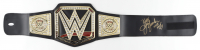 """Jerry """"King"""" Lawler Signed WWE World Heavyweight Champion Belt Inscribed """"WWE HOF 07"""" (JSA COA) (See Description) at PristineAuction.com"""