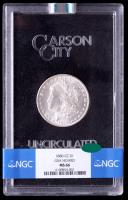 1880-CC Morgan Silver Dollar (NGC MS66) CAC (GSA Holder) at PristineAuction.com