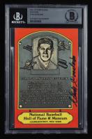 Stan Coveleski Signed Hall of Fame Plaque Postcard (BGS Encapsulated) at PristineAuction.com