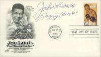 "Jake LaMotta Signed ""Joe Louis"" 1993 FDC Envelope Inscribed ""Raging Bull"" (JSA COA) at PristineAuction.com"