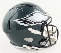 Donovan McNabb Signed Eagles Full-Size Speed Helmet (JSA COA) at PristineAuction.com