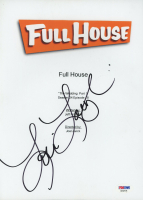 "Lori Loughlin Signed ""Full House"" Episode Script Cover (PSA Hologram) at PristineAuction.com"
