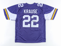 Paul Krause Signed Jersey Inscribed (JSA COA) at PristineAuction.com