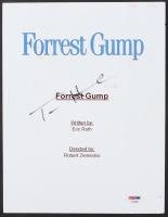"""Tom Hanks Signed """"Forrest Gump"""" Movie Script Cover (PSA Hologram) at PristineAuction.com"""