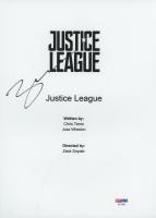 "Ben Affleck Signed ""Justice League"" Movie Script Cover (PSA Hologram) at PristineAuction.com"