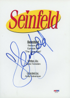 """Jerry Seinfeld Signed """"Seinfeld"""" Episode Script Cover (PSA Hologram) at PristineAuction.com"""
