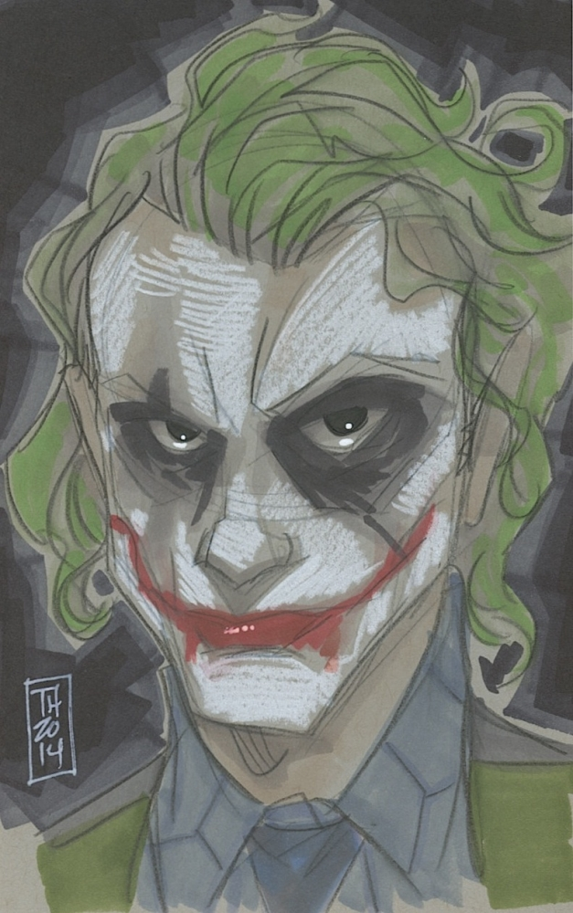 Imagespace The Joker Drawing In Color Gmispacecom