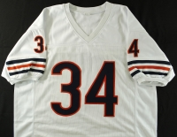 Walter Payton Signed Bears Jersey with (5) Career Stat Inscriptions (Payton Hologram & PSA LOA) at PristineAuction.com