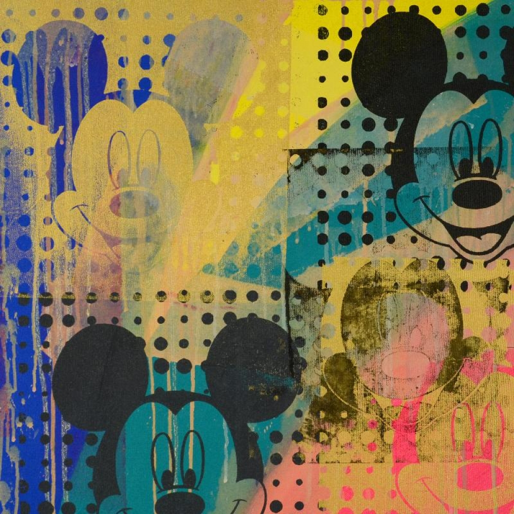 Mickey Mouse Painting Canvas Canada