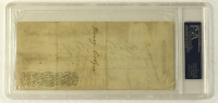 Charles Dickens Signed Bank Check Dated November, 1865 (PSA Encapsulated) at PristineAuction.com
