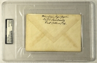 Janis Joplin Signed Envelope (PSA Encapsulated) at PristineAuction.com