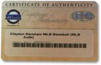 Clayton Kershaw Signed MLB Baseball (Steiner COA) at PristineAuction.com