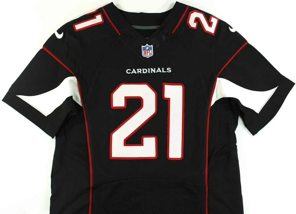 8818ac58e ... Patrick Peterson Signed Cardinals Jersey Inscribed ...