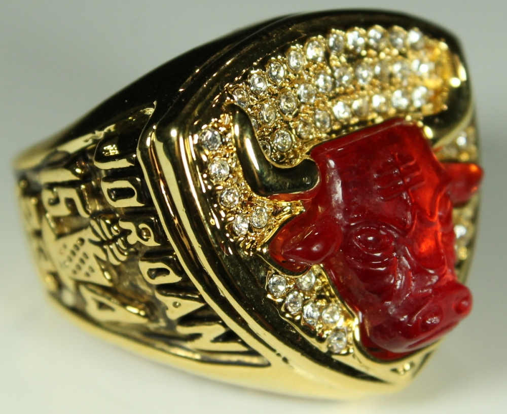 4ccf4ded81444a Michael Jordan Chicago Bulls High Quality Replica 1993 NBA World Championship  Ring at PristineAuction.com