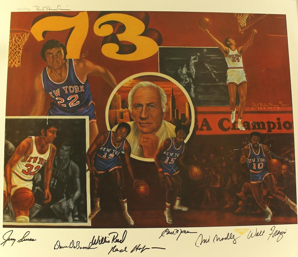 line Sports Memorabilia Auction