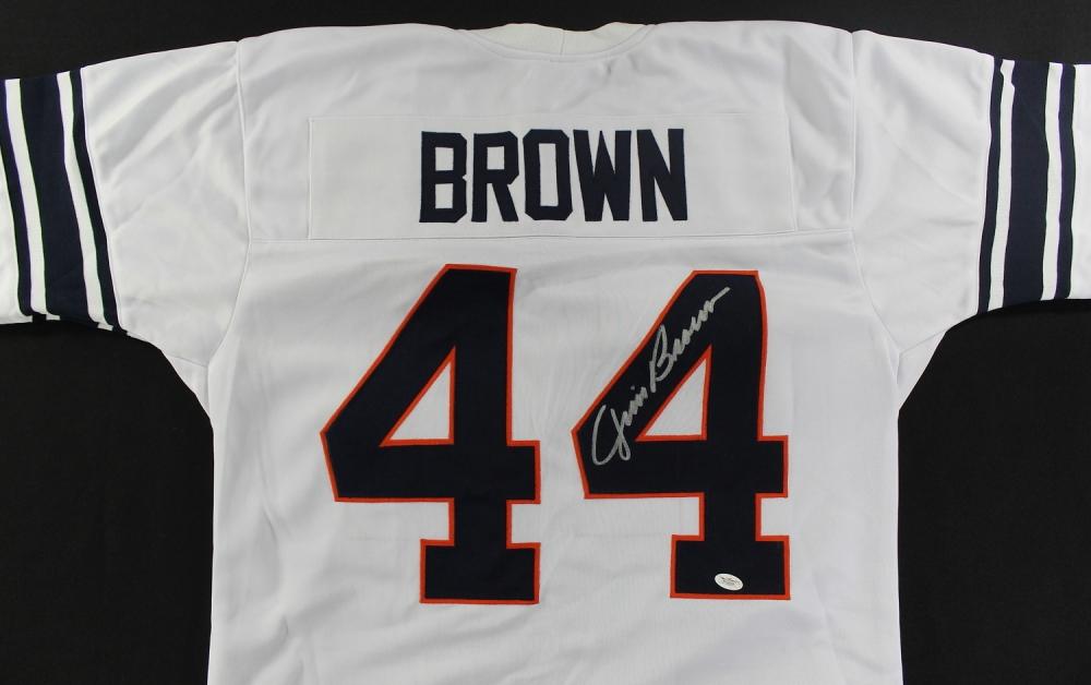 8aa4e453ed4 Jim Brown Signed Syracuse Jersey (JSA COA) at PristineAuction.com