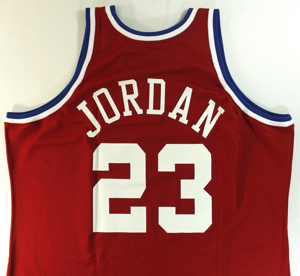 5d7cc87bb17 Michael Jordan Signed Limited Edition Authentic Mitchell   Ness 1989 All- Star Game Jersey Inscribed