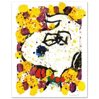 "Tom Everhart Signed ""Squeeze The Day-Wednesday"" Limited Edition Hand Pulled Original 29x38 Lithograph at PristineAuction.com"