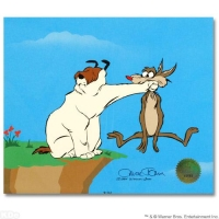 "Chuck Jones ""Suspended Animation"" Limited Edition 12x10 Animation Cel with Hand-Painted Color"