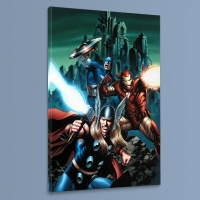 "Steve Epting ""Thor #81"" Marvel Limited Edition 18x27 Giclee on Canvas"