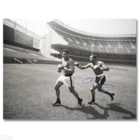 "Ken Norton Signed ""Ken Norton and Ali, Yankee Stadium"" 40x30 Photo at PristineAuction.com"