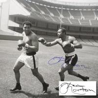 "Ken Norton Signed ""Ken Norton and Ali, Yankee Stadium"" 40x30 Photo at PristineAuction.com"