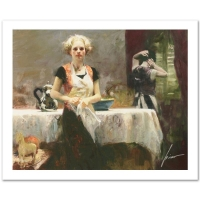 """Pino Signed """"In the Late Evening"""" Limited Edition 20x16 Giclee"""