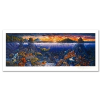 """Robert Lyn Nelson Signed """"Sweeping Hana Vistas"""" Limited Edition 15x31 Mixed Media at PristineAuction.com"""