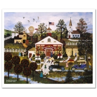 """Jane Wooster Scott Signed """"Vacation Anticipation"""" Limited Edition 19x22 Lithograph (PA LOA) at PristineAuction.com"""