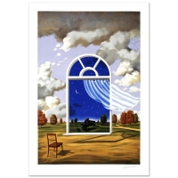 """Rafal Olbinski Signed """"Nocture in E Flat Major"""" Limited Edition 26x37 Lithograph"""