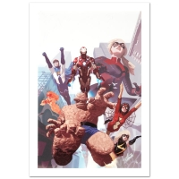 "Stan Lee Signed ""I Am An Avenger #4"" Limited Edition 18x27 Giclee on Canvas by Daniel Acuna and Marvel Comics"