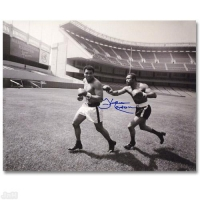 "Ken Norton Signed ""Ken Norton and Ali, Yankee Stadium"" 11x14 Photo at PristineAuction.com"