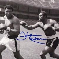 "Ken Norton Signed ""Ken Norton and Ali, Yankee Stadium"" 11x14 Photo at PristineAuction.com"