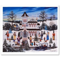 "Jane Wooster Scott Signed ""Nutcracker Fantasy"" Limited Edition 22x19 Lithograph at PristineAuction.com"