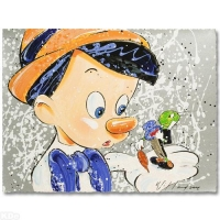 "David Willardson Signed ""Boy Oh Boy Oh Boy"" Limited Edition 21x16 Serigraph at PristineAuction.com"