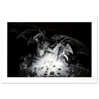 """Greg Hildebrandt Signed """"Gandalf Versus Balrog"""" LE 34x23 Giclee on Paper at PristineAuction.com"""
