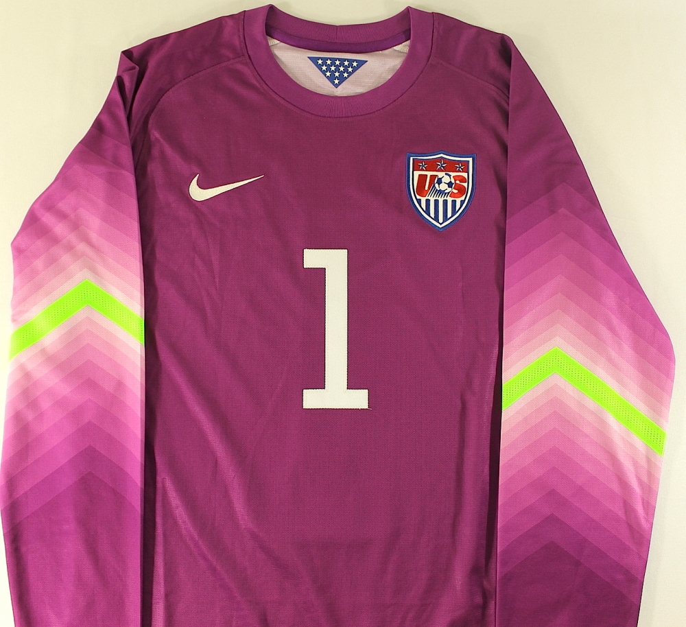 a83ae64f0 Tim Howard Signed Authentic Nike Team USA Soccer Keeper Jersey (JSA COA) at  PristineAuction