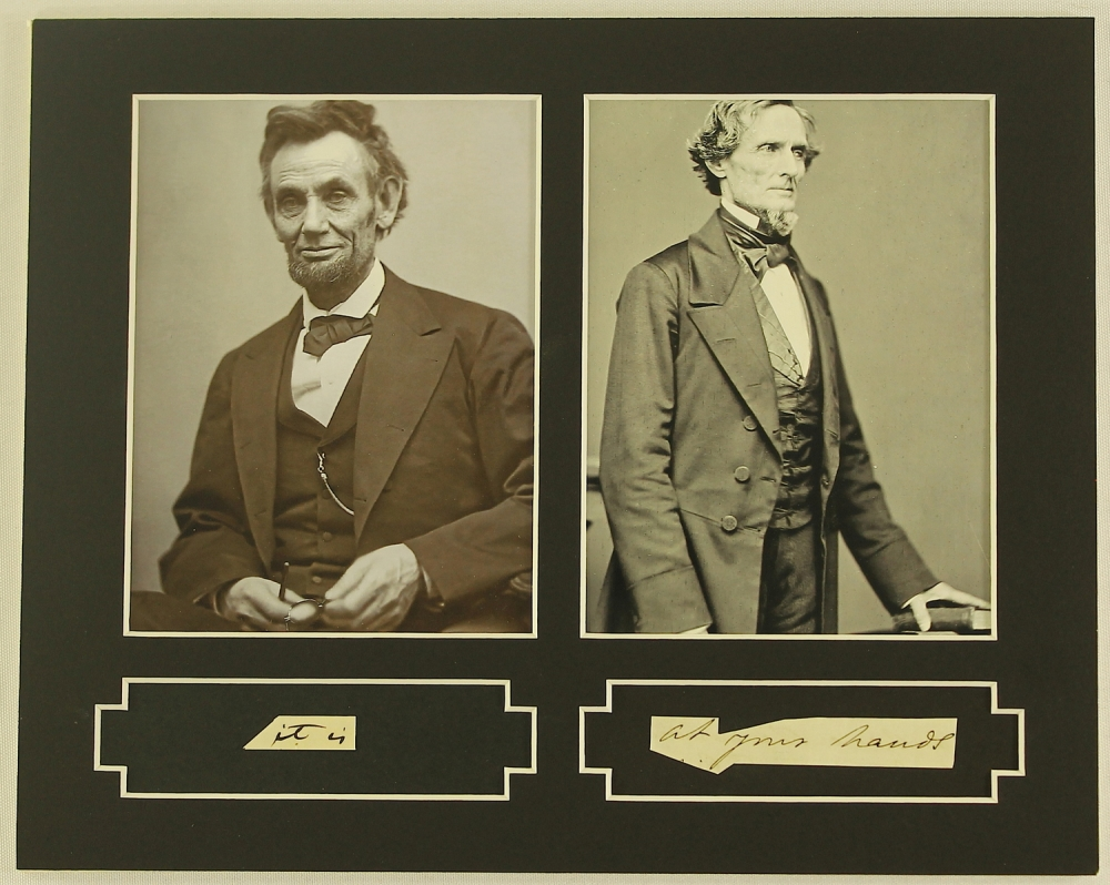 a comparison of abraham lincoln and jefferson davis Compare and contrast abraham lincoln and jefferson davis as wartime presidents what challenges did they face and how did they overcome them who, in your opinion, was the better leader, and why.