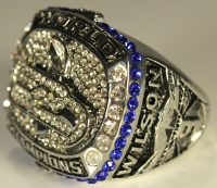 Russell Wilson Seahawks High Quality Replica 2013 Super Bowl XLVIII Championship Ring at PristineAuction.com