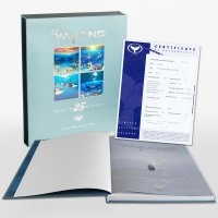 """Wyland Signed """"Wyland: 25 Years at Sea"""" Limited Edition Collector's Fine Art Book by John Yow at PristineAuction.com"""