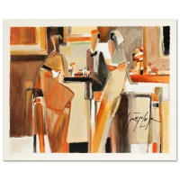 "Yuri Tremler Signed ""Bar Scene I"" Limited Edition 16x13 Serigraph at PristineAuction.com"