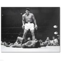 "Muhammad Ali ""Standing Over Sonny Liston"" 40x30 Photo"