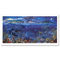"""Robert Lyn Nelson Signed """"From Sea to Shining Sea"""" Limited Edition 39x22 Mixed Media (PA LOA) at PristineAuction.com"""