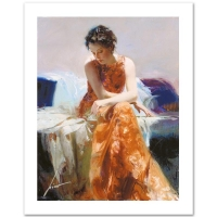 """Pino Signed """"Solace Limited Edition 16x21 Giclee"""