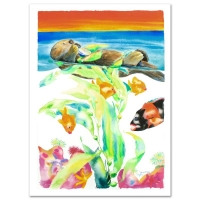 """Wyland Signed """"California"""" Limited Edition 29x41 Giclee on Canvas at PristineAuction.com"""