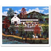 """Jane Wooster Scott Signed """"Queen of the Trail"""" Limited Edition 16x20 Lithograph (PA LOA) at PristineAuction.com"""