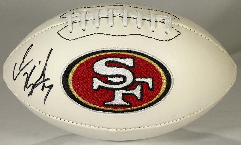Colin Kaepernick Signed 49ers Logo Football (PSA COA & Schwartz ...