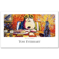 """Tom Everhart """"Last Supper"""" Fine Art 38x24 Poster at PristineAuction.com"""